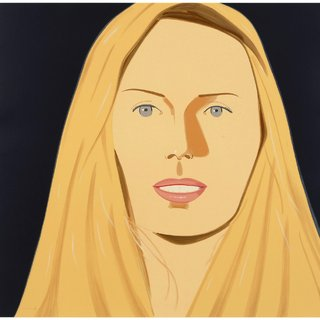 famous painting Sara of Alex Katz