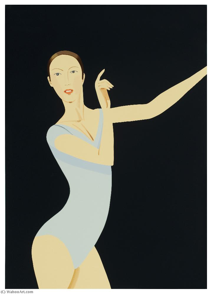 famous painting Sarah of Alex Katz