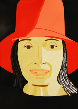 famous painting Tall (1) of Alex Katz