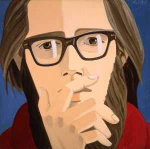 Alex Katz - Ted berrigan