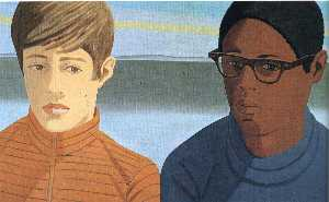 Alex Katz - Vincent and Tony