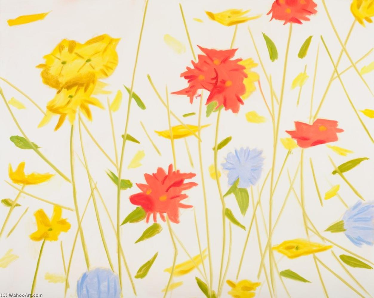 famous painting Wildflowers of Alex Katz