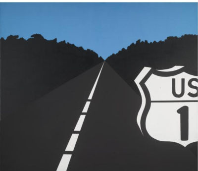 famous painting Untitled (698) of Allan D'arcangelo