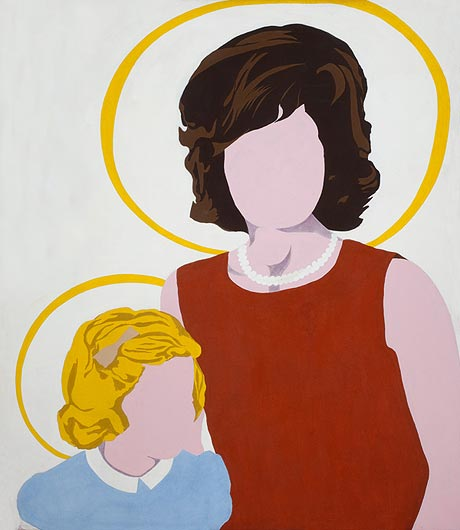 famous painting Madonna and Child of Allan D'arcangelo
