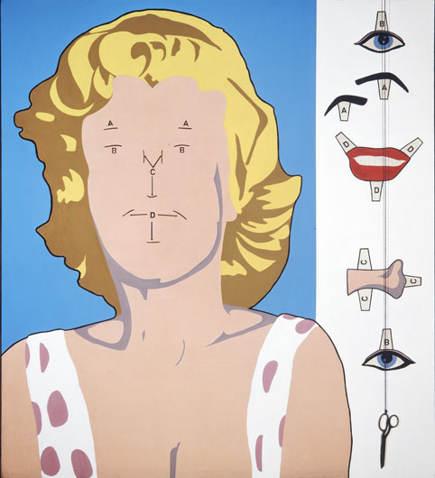 famous painting Marilyn of Allan D'arcangelo