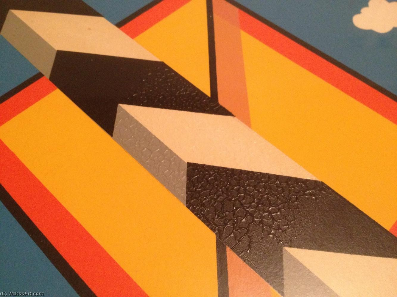 famous painting Mid century mordern of Allan D'arcangelo