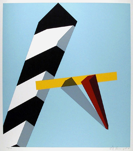 famous painting Proposition of Allan D'arcangelo