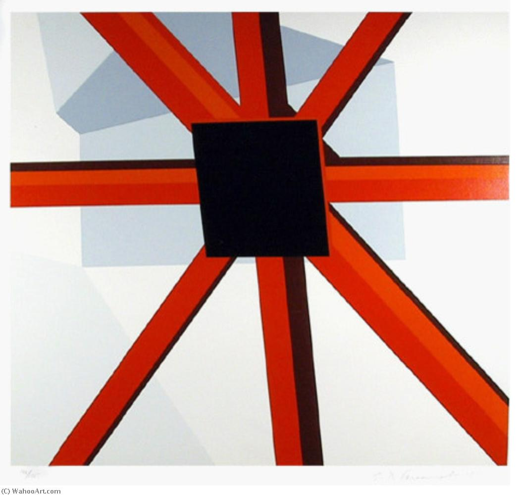 famous painting Squared star of Allan D'arcangelo