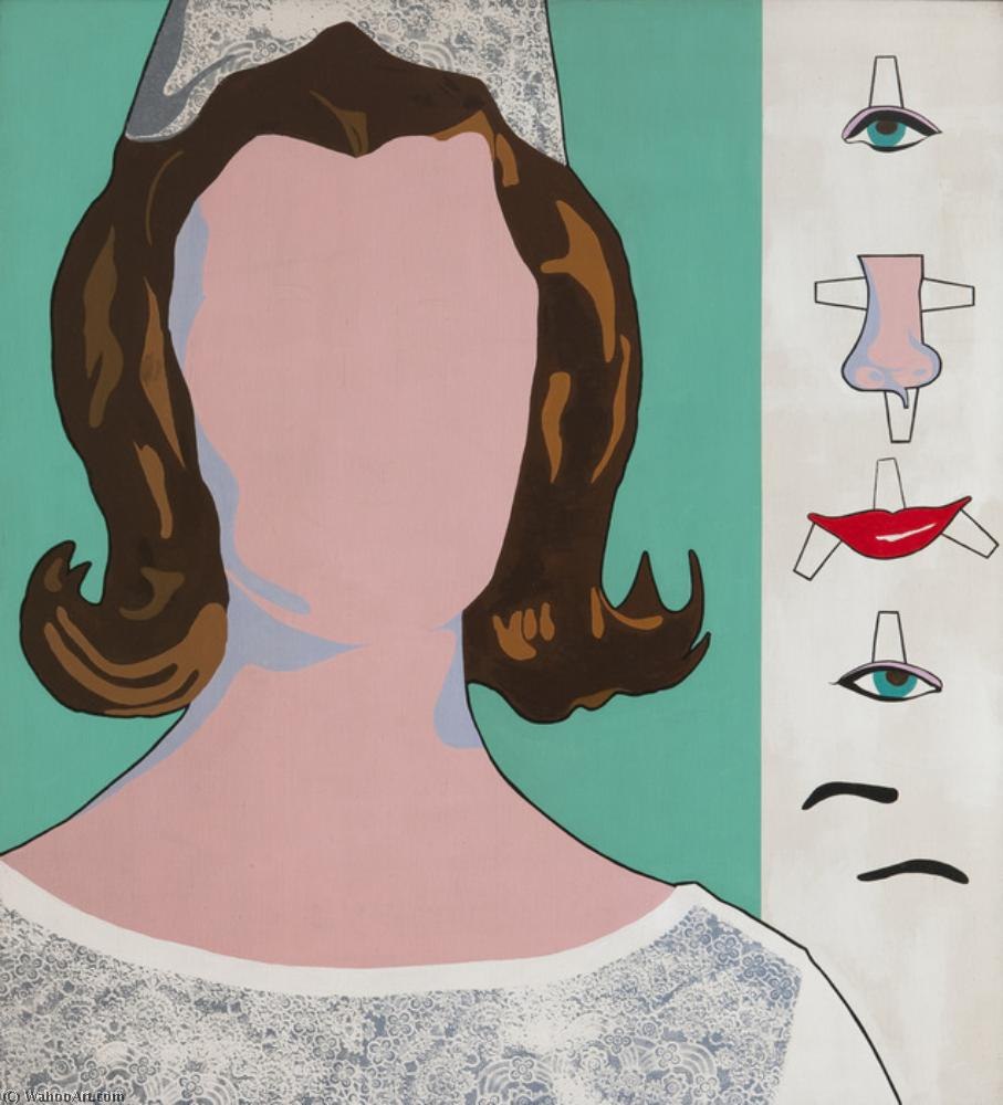 famous painting The bride of Allan D'arcangelo