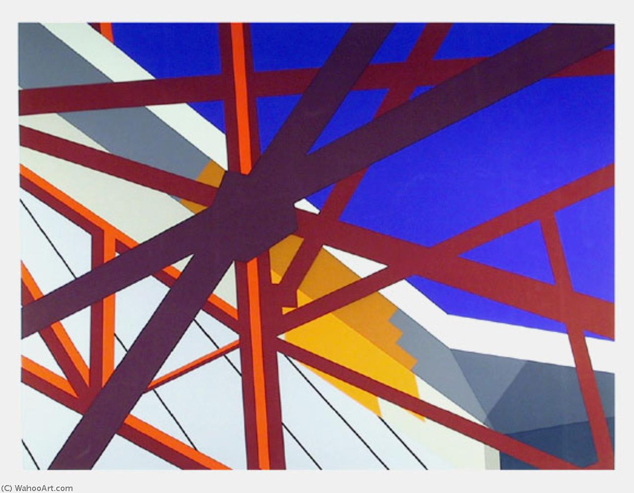 famous painting Web of Allan D'arcangelo