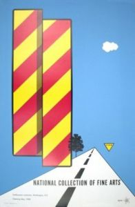 famous painting Yield of Allan D'arcangelo