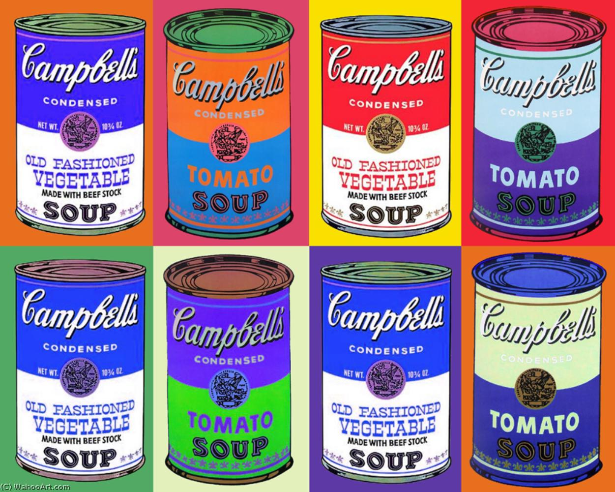 famous painting Campbells of Andy Warhol