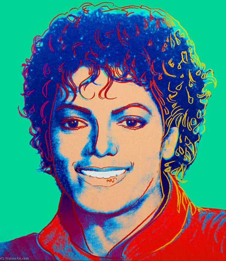 famous painting Michael jackson of Andy Warhol
