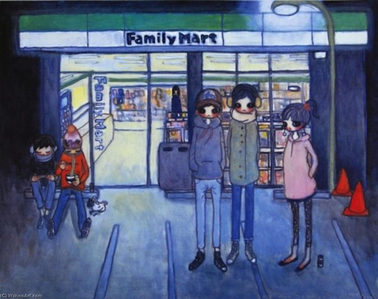 famous painting Convenience store of Aya Takano