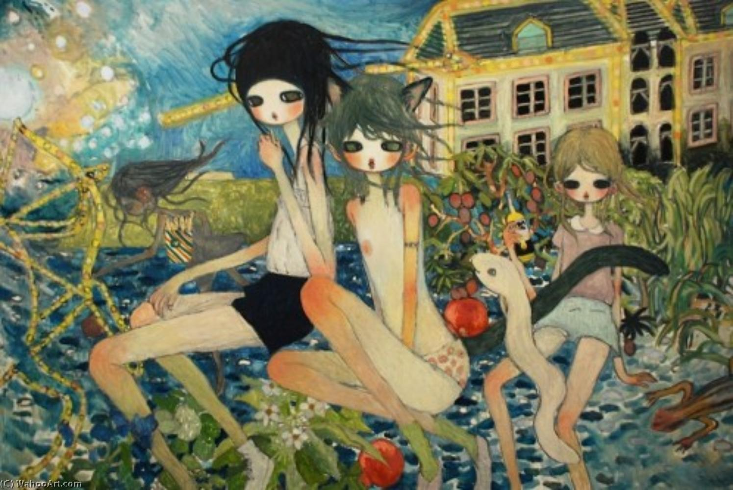 famous painting Heaven is inside of you (2) of Aya Takano