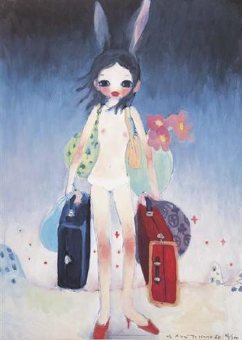 famous painting Mail mania of Aya Takano