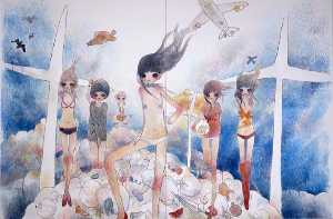 Aya Takano - Nymphs of the stratosphere