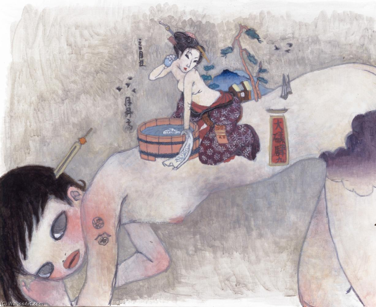 famous painting Untitled (2) of Aya Takano