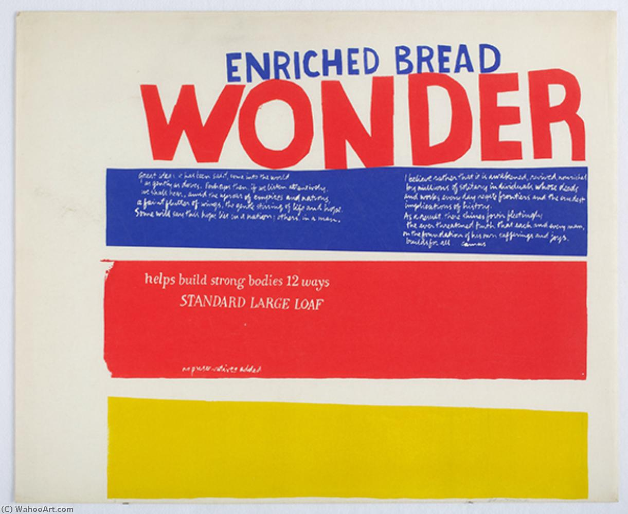 famous painting Enriched bread of Corita Kent