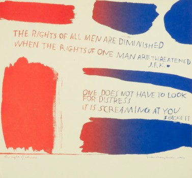 | The Rights of All Men by Corita Kent | BuyPopArt.com