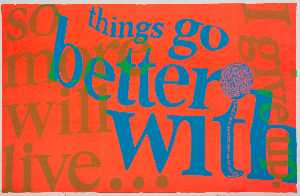 Corita Kent - Things go better with