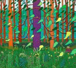 David Hockney - A bigger