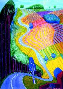 David Hockney - B1119d469eec73ca06a2d9f9e9f65708