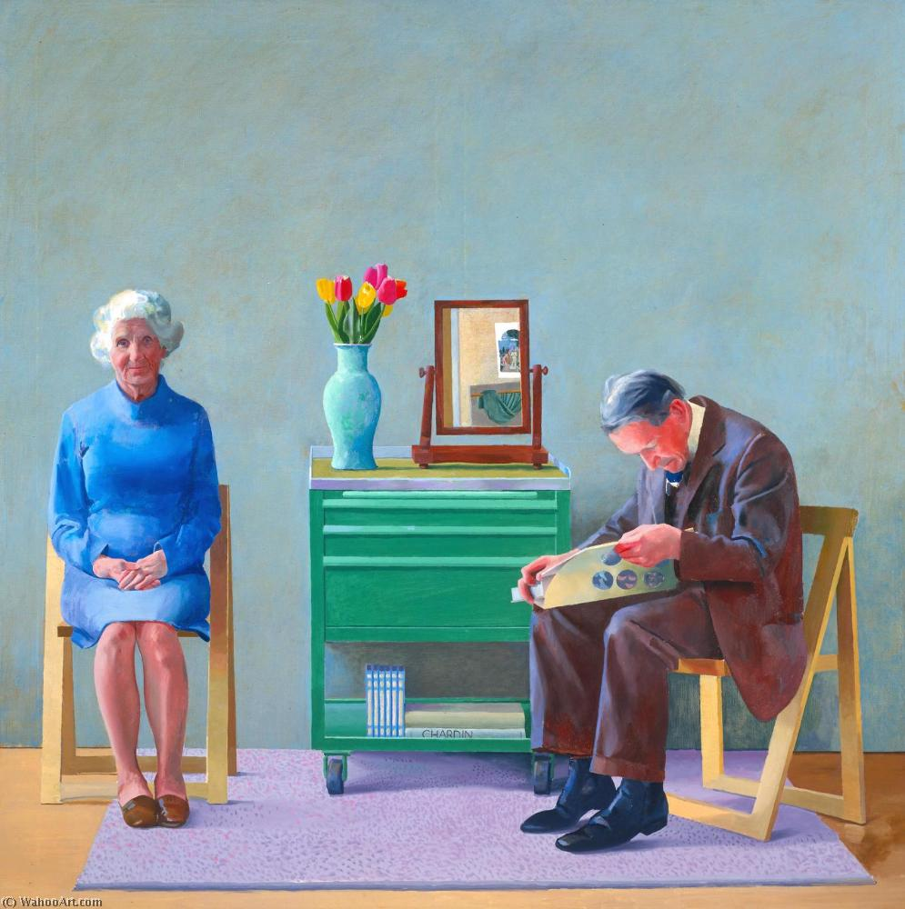 famous painting My parents of David Hockney