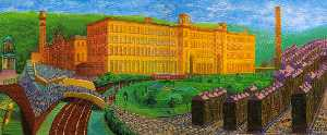 David Hockney - Salts mill, saltaire, yorks