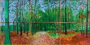 David Hockney - Woldgate Woods III