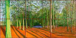 David Hockney - Woods and november