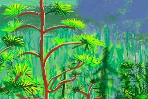 David Hockney - Yosemite i (2)