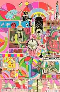 Eduardo Paolozzi - B.A.S.H. (Pink, Orange, Blue-Grey)