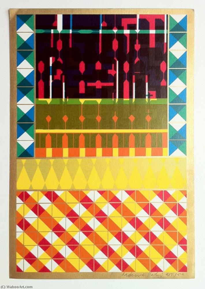 famous painting Cover for a Journal of Eduardo Paolozzi