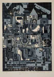Eduardo Paolozzi - Four german songs (2)