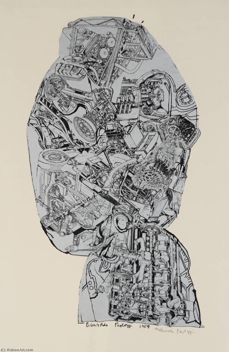 famous painting Head of Eduardo Paolozzi