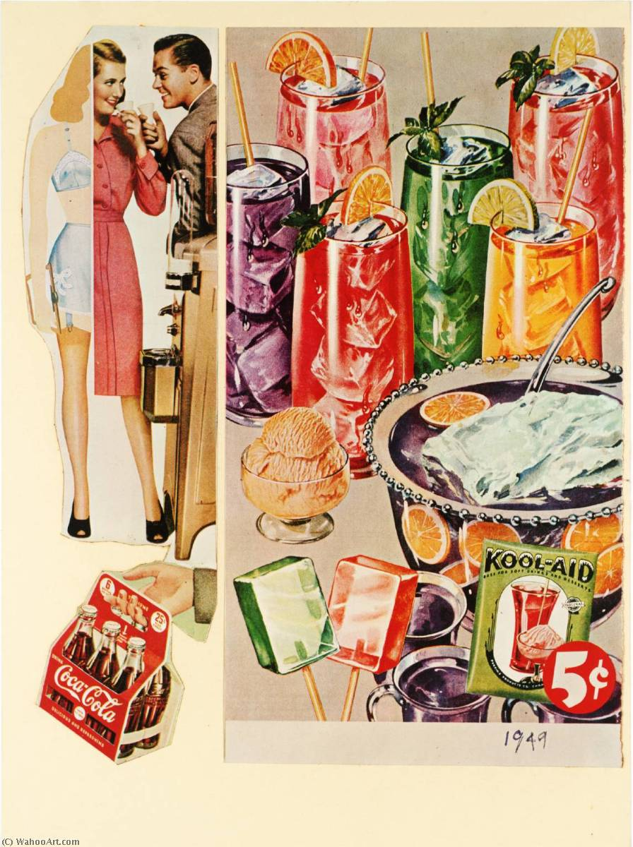 | Refreshing and Delicious by Eduardo Paolozzi | BuyPopArt.com