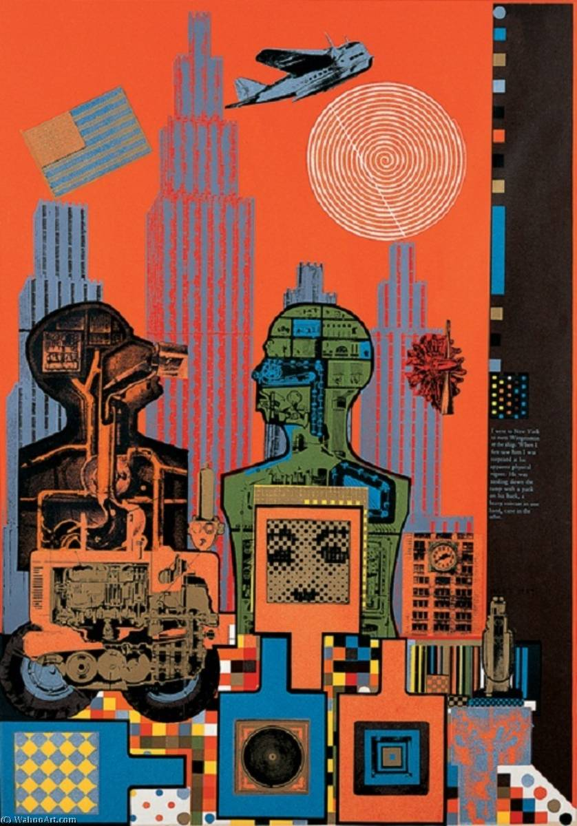 | Wittgenstein in new york (2) by Eduardo Paolozzi | BuyPopArt.com