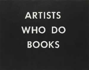 Edward Ruscha - Artists who do books