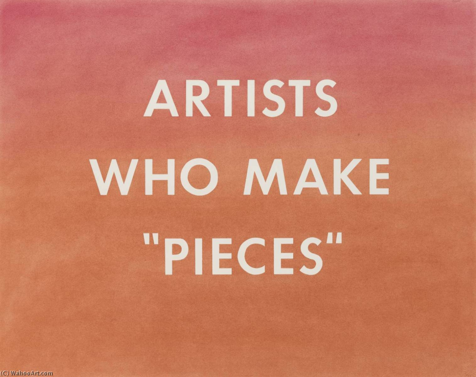 famous painting Artists who make pieces of Edward Ruscha
