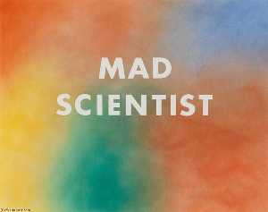 Edward Ruscha - Mad scientist