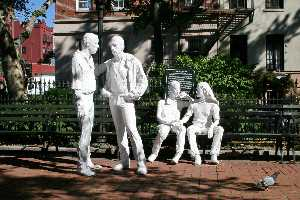 George Segal - Gay liberation monument