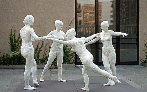 famous painting The dancers of George Segal