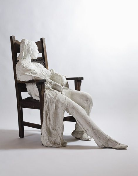 famous painting Woman in armchair of George Segal