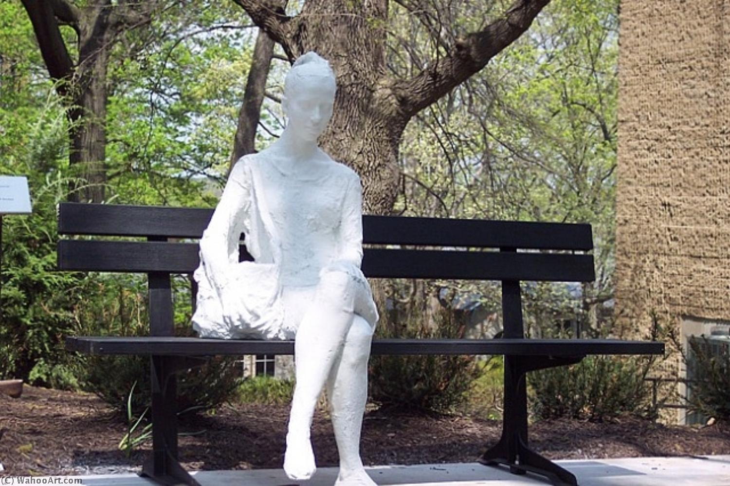 famous painting Woman on a bench of George Segal