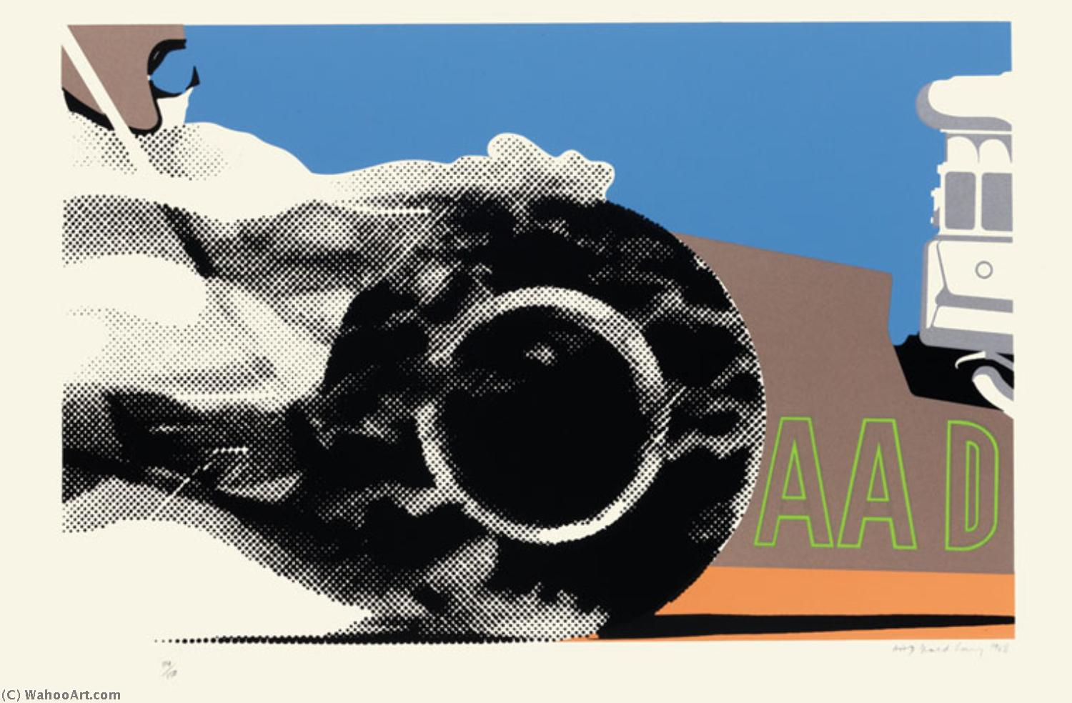 | Aad by Gerald Laing | BuyPopArt.com