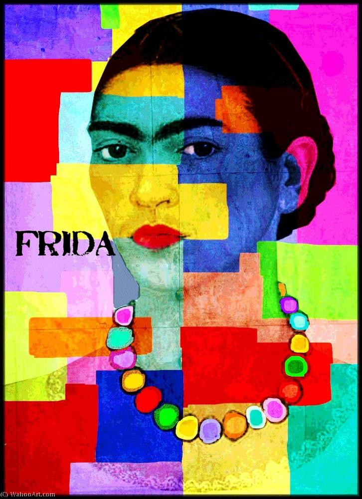 famous painting Frida of James Gill