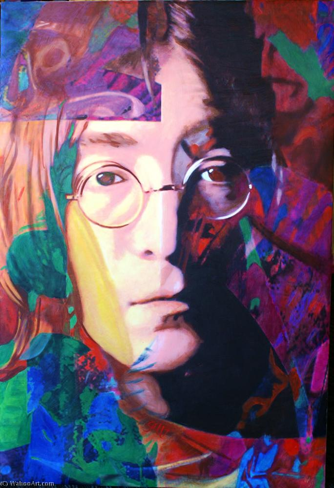 famous painting John lennon state of James Gill
