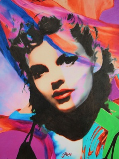 famous painting Judy garland of James Gill