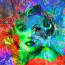 famous painting Marilyn monroe (2) of James Gill